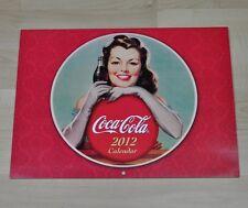 Bel vecchio Coca-Cola Calendario 2012 USA Coca Cola calendario