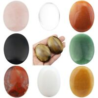 Oval Energy Worry Stone Palm Pocket Crystal Therapy Gemstone Healing Balancing