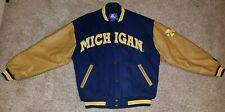 Michigan Wolverines Wool Letterman Jacket Starter