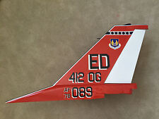 1/4 scale F16 Falcon Fighter Jet Tail USAF Wall Art Retirement Gift for Pilots