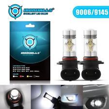 2x 9006 HB4 9145 100W LED CREE 6000K White Headlight Bulbs Kit Fog Driving Light