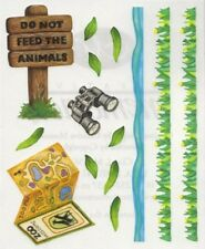 NEW Creative Memories BLOCK STICKER - Zoo Sticker - Do Not Feed The Animals
