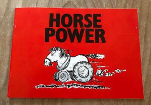 Massey Ferguson Horse Power Information Booklet Original Print 1989