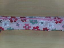BNWT-Hobby Gift-Retro Floral Design on PinkFabric Knitting Needle Case