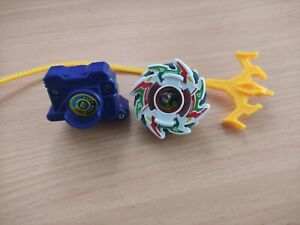 Dragoon G Beyblade With Launcher & Ripcord Old Generation - Hasbro - Engine Gear
