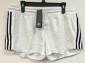 NWT $35 adidas Women's DM1770 Changeover Shorts, Cream, Size XL - 0G_11