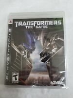 Transformers The Game PS3 BRAnD NEW FACTORY SEALED FREE FAST SHIPPING