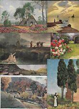 Vintage Landscape Big Postcard Lot of 50 Plus   01.18
