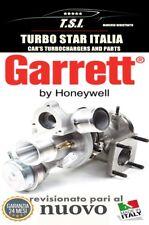TURBINA GARRETT ALFA ROMEO GIULIETTA MITO FIAT GRANDE PUNTO 500 REVISIONATO