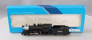 Mantua 336-001 HO A.T.&S.F. Atlantic 4-4-2 Steam Locomotive & Tender #520 EX/Box