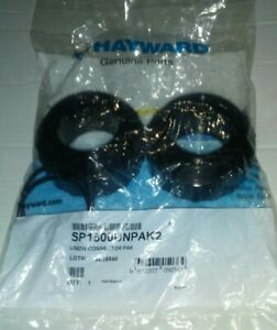 """HAYWARD SP1500UNPAK2, 1 1/2"""" SOCKET ABS, QUICK CONNECT UNIONS FOR CL-200, NEW"""