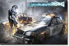 VIDEO GAME POSTER Metal Gear Rising Slash