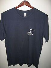 Super Bowl XLVIII 2014 Denver Broncos Seattle Seahawks Football Game T Shirt XLg