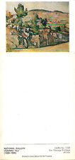 1980's COLOUR POSTCARD OF ROCKY LANDSCAPE PAYSAGE ROCHEUX BY PAUL CEZANNE