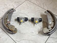 VAUXHALL CORSA C 00-06 ONE SET OF REAR BRAKE SHOES ANDTWO CYLINDERS NON ABS