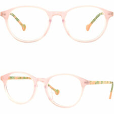 Light Women's Round Acetate Frames Plastic Prescription Glasses Sunglasses Pink