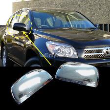 [8646 ] for Toyota RAV4 Chrome Rear Door Mirror Cover Trim Vanguard ABS 06-08