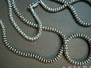 Silpada N1486 Popcorn Chain 30 inch  Sterling Silver S1252 Onyx Pendant