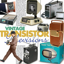 Vintage Transistor Televisions Tv collector book Philco Safari Sony Philco Seiko