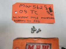 SCION TC XD YARIS PRIUS BOLTS BOLT SCREWS SCREW POWER WINDOW REGULATOR TO MOTOR