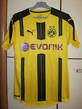 BORUSSIA DORTMUND GERMANY 2016/2017 HOME FOOTBALL SHIRT JERSEY PUMA SIZE S