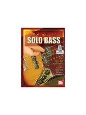Michael Dimin The Art Of Solo Bass Online Audio Play GUITAR MUSIC BOOK/AUDIO