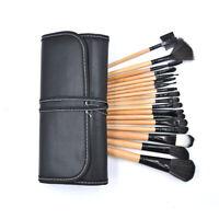 18pcs Makeup Brushes Face Powder Eyeshadow Lip Brushes Kit & Free Pouch Bag