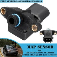 3Pins MAP Sensor For Chrysler PT Cruiser Voyager Jeep New#04686684AA #04686684AB