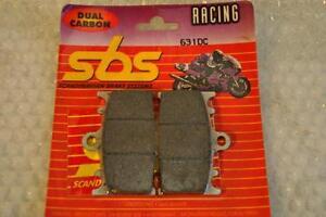 Brake Pads SBS Code 631DCDUAL Kohlenstoff Race Rear / SBS Dual Front