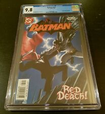 BATMAN #635 (2005 D.C.) CGC 9.8 W.P. *1st JASON TODD AS RED HOOD*