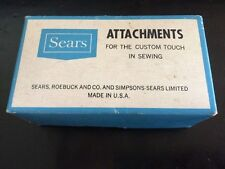 Sears Kenmore Vintage 158.950 Sewing Machine Attachments No. 60827 GREIST - USA