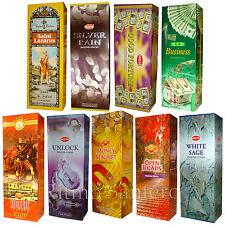 Spiritual & Esoteric Incense Sticks pack bulk Hem Sac Darshan Wicca Spell Ritual