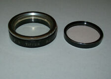 TIFFEN 32.5MM SCREW IN FILTER HOLDER ADAPTER RING WITH CLEAR AND CLOSE-UP FILTER