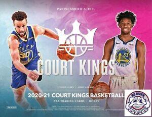 Damian Lillard 2020-21 Panini Court Kings Basketball Case 16Box Break