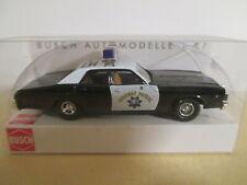 Busch Dodge Monaco - California Highway Patrol - OVP - 1:87 - C-25