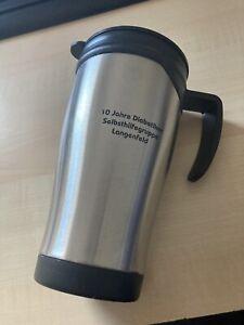 Edelstahl Thermobecher, Isolierbecher, Coffee to go, Henkelbecher - NEU/OVP