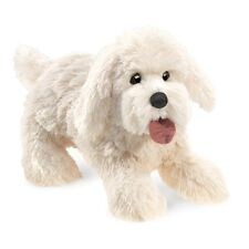 Panting Dog Hand Puppet, Squeeze to Make Pant, Folkmanis MPN 3053, Boys & Girls