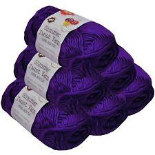 Glimmer Twist Acrylic Yarn 100g 134m Solid Amethyst