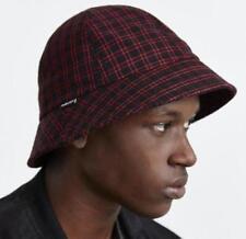 41a02100582 NEW PUBLISH TUCKER RED PLAID BUCKET HAT LARGE   EXTRA LARGE