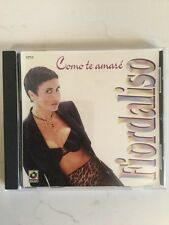 FIORDALISO - Como Te Amare CD - Italian Singer Sings In Spanish ( Daniela Romo