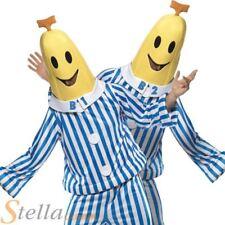 Official Bananas In Pyjamas Men's Fancy Dress Costume Cartoon Banana