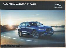 Jaguar F-Pace 107 Page Sales Brochure Oct 15. MY17