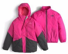 NWT THE NORTH FACE Girl's KIRA Cabaret Pink TRICLIMATE 3-in-1 JACKET - XL