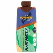 for Goodness Shakes Plant Protein - Smooth Choc 330ml (pack of 2)