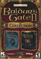 Baldurs Gate 2 II & Throne of Bhaal & Shadows of Amn - Collection - RPG - PC New
