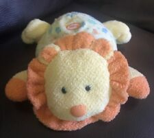 Carters Child Of Mine Yellow Orange Lion Sound Roars Lovey Toy Plush  #11