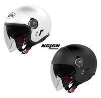 Casque jet NOLAN N21 Classic Visor moto vespa xlite NEUF Casco Helm Helmet шлем