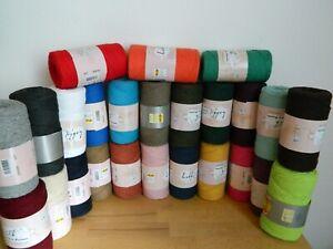 100% Recycled Baumwolle Makramee Garn  31 Verschiedene Farben 2-2,5mm Breit