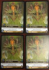 WORLD OF WARCRAFT WOW TCG EPIC : KING MAGNI BRONZEBEARD EA X 4