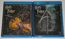 Kid Blu-ray Lot - Harry Potter and the Deathly Hallows Parts 1 & 2 (Used)